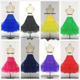$enCountryForm.capitalKeyWord Australia - 15 Colors Short 2019 Organza Petticoat Jupon Crinoline Wedding Bridal Underskirts for Dress Prom Dress Rockabilly Cheap Price Wholesale