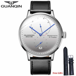 $enCountryForm.capitalKeyWord NZ - Guanqin Men Watches Top Brand Luxury Automatic Mechanical Watch Casual Leather Strap Sapphire Waterproof Analog Wristwatch Mens Y19052103