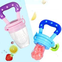 baby bottles teats 2019 - Fresh Fruit Nibbler Baby Fruit Feeder Nipples Feeding SafeNipple Teat Pacifier Bottles Baby Supplies discount baby bottl