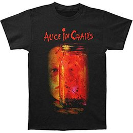 $enCountryForm.capitalKeyWord Australia - Alice in Chains Men's Can of Fly Casual funny Short Sleeved pure Cotton Clothing Casual collar Man Fashion Design T-shirt