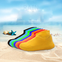 Reusable Silicone Shoe Covers Waterproof And Unlimited Shoe Protectors Outdoor Camping Tools for Children and Adults from lipstick free shipping dhl suppliers