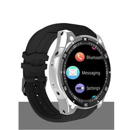 "Smart Watch 3g Sim Card Australia - 696 X100 Android 5.1 OS Wrist Smart watch MTK6580 1.3"" AMOLED Display 3G SIM Card"