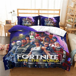 Teen Bedding Queen Online Shopping   Fortnite Games Cartoon Pattern Home  Decor Duvet Cover Sets Fashion
