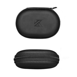 headphone bag pouch case Canada - KZ Earphone Case PU Leather Headphone Storage Bag Earphone Holder Pouch Storage Carrying Hard Bag Box For KZ Headphones
