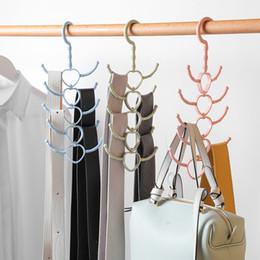 $enCountryForm.capitalKeyWord Australia - 1pc Rotatable 10-claw Multi-purpose Rack Hook Hanger Tie Scarves Scarf Coat Rack Plastic Hook Shoe Organizer