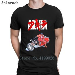 Kaneda And His Bike T Shirt Letter Tops Personalized Short Sleeve Custom Tshirt Spring Fit Family Humor Hilarious