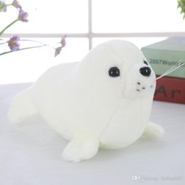 toy seals 2020 - 20170706 Hot Sales Plush Big Seals Toy Doll Comforting Sleep 26CM Cute Seals Pillow Ocean Stuffed Animals Soft Toys Chil