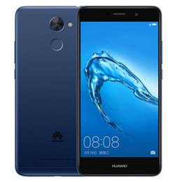 Оригинальный Huawei Enjoy 7 Plus 4G LTE сотовый телефон Snapdragon 435 Octa Core 3GB RAM 32GB ROM Android 5.5 inch 12.0 MP Fingerprint ID мобильный телефон