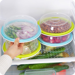 Bowls For Kitchen Australia - Multi-purpose Sealing Cover Stackable Refrigerator Fresh-keeping Cover Special Heating and Splatter Guard for Microwave Bowl Cover BH0039