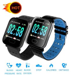 $enCountryForm.capitalKeyWord Australia - Cheap Smartwatch A6 Smart bracelet with Heart rate Monitor Blood Pressure IP67 Smart Watch Band xiaomi huawei iphone