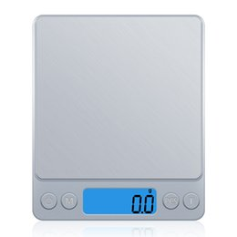 Mini electronic digital balance weight scale online shopping - Digital Kitchen Scale Mini Pocket Stainless Steel Precision Jewelry Electronic Balance Weight Gold Grams gx0 g
