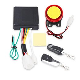 engine start Australia - Universal Motorcycle Alarm System Scooter Anti-theft Security Alarm System Two-way with Engine Start Remote Control car