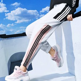 $enCountryForm.capitalKeyWord NZ - Summer Harem Pants Hip Hop Fashion Loose Beam Legs Solid Color Ankle-length Pants Casual 2019 Women's Couple Harajuku Pants Girl MX190716