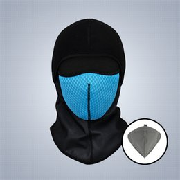 $enCountryForm.capitalKeyWord Australia - Winter Cycling Face Mask Carbon Filter Mask PM2.5 Anti-pollution Sport Ski Masks Bicycle Riding Running Thermal Fleece Face