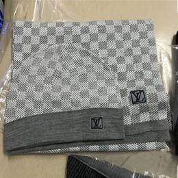 Marca bufandas Establece diseñador para hombre de la bufanda de lana 2020 de la moda de la marca bufanda a cuadros para hombre bufandas de la cachemira Tamaño 180x32cm en venta