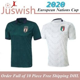 soccer training shirts Australia - 2020 2021 Italy Soccer Jerseys VERRATTI INSIGNE IMMOBILE CHIESA Home away 20 21 Football Women Training Shirt