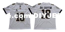 53f8f9273 Custom NCAA UCF Knights Football Jersey Blake Bortles Brandon Marshall  Randy Charlton McKenzie Milton Shaquem Griffin UCF Knights Jerseys