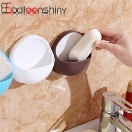 $enCountryForm.capitalKeyWord Australia - wholesale Soap Holder Tray Drain Sucker Suction Cup Holder Bathroom Shower Soap Dish Tray Razor Storage Box Kitchen