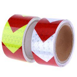 $enCountryForm.capitalKeyWord Australia - 5m*5cm Bicycle Reflector Sticker Vehicle Truck Body Wheel Rim Reflective Car Stickers Decal Safety Caution Warning Adhesive Tape
