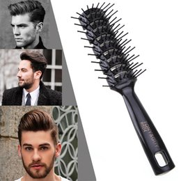 HealtHy wigs online shopping - Pro Hairdressing Hair Salon Barber Anti static Heat Comb Hair Wig Styling Tool Comb Brush Healthy Massage Reduce Loss Tools