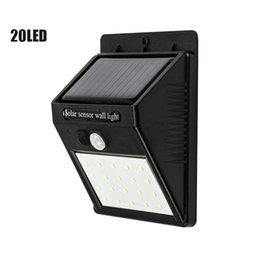 outdoor green power solar lights Australia - LED Solar Light Outdoor Solar Lamp Motion Sensor Wall Light Waterproof Powered Sunlight For Garden Decoration