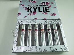 $enCountryForm.capitalKeyWord Australia - brand lip gloss Holiday Christmas Edition Lipstick Vault 12 color kylie Matte Lipsticks new year gift fashion item 12 Days lipgloss kit New