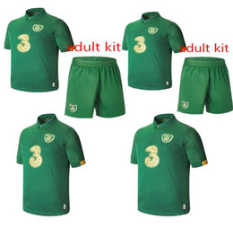 team soccer uniforms kit NZ - NEW 19 20 Ireland Soccer Jersey 2020 Ireland Soccer Jersey Adult Kit Footbalaway Republic Of Ireland National Team Thailand Quality Uniform