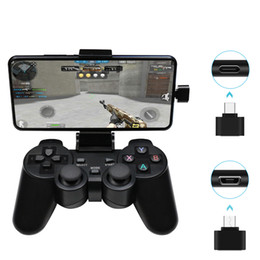 wireless pc controller games Australia - Wireless Gamepad PC For PS3 Android Phone TV Box 2.4G Wireless Joystick Joypad Game Controller Remote For Xiaomi OTG Smart Phone