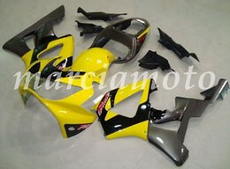 cbr929rr fairings UK - New (Injection molding) ABS Fairing Kits Fit For Honda CBR929RR 2000 2001 cbr929rr 00 01 Fairings set Yellow Silver Black