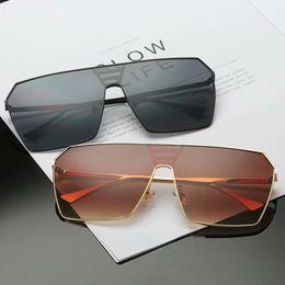 b1d4a58d4524 Popular Designer Sunglasses for Men Women Europe USA Hot Big Frame Retro  Glasses Goggles 6 Colors Marine Film Sunglasses Quality A++++