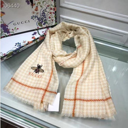 Original silk scarves online shopping - Matched with the original packaging box gifts winter luxury cashmere scarf male and female designers classic large letter scarf