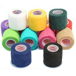 $enCountryForm.capitalKeyWord Australia - Wholesale- Crossfit kinesiology tape Tennis Volleyball Football knee protection tape bodybuilding basketball kinesio tape 24 pieces