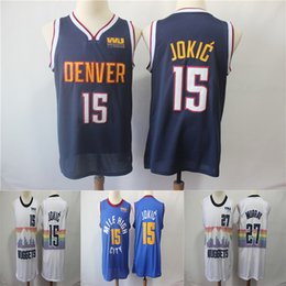 Nuggets Nikola 15 Jokic Jamal 27 Murray 201819 Swingman Jersey Earned  Denver Men Basketball Jerseys 84a6b82df