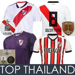 bbb9fb9ccb Discount river plate shirt - 4 Conmebol 2018 River Plate Soccer Jerseys  MARTINEZ PONZIO 18 19