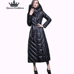 Wholesale zipper placket online – oversize European Original design brand winter women fashion slim style white duck down jacket parkas with hooded special placket