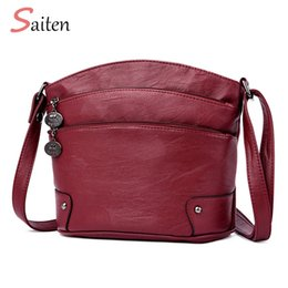 Zipper Bags Australia - Women Shoulder Bag Classic Brand 3 Zipper Vintage Style Casual Bags Women Messenger Bags Promotion Crossbody Bag Female Hot Sell