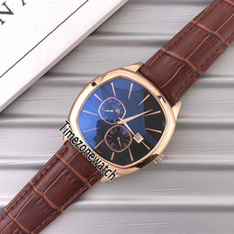 Browning Gold Australia - New Black-Tie G0A32017 Rose Gold Black Dial Automatic Moon Phase Mens Watch Brown Leather 8 Styles Sports Watches E43a1