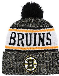 710828c033b Winter Cold Cap Australia - BRUINS Beanie Sideline Cold Weather Graphite  Official Revers Sport Knit Hat