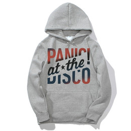 Discount rare clothing - Panic! At The Disco Too Weird To Live Too Rare To Die Hoodies Hooded Women Men Sweatshirts Streetwear Harajuku Clothes