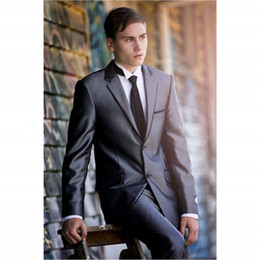 $enCountryForm.capitalKeyWord Australia - High Quality New Style For Wedding Men Suits Two Piece Suit Notched Lapel Groomsmen Tuxedos (Jacket+pant)