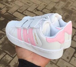 White Casual Closed Shoes For Girls Canada - brand New Style Superstar Shell Head Sneakers Children Sport Shoes Running Shoes for kids,boys sneakers and girls Children's casual shoes