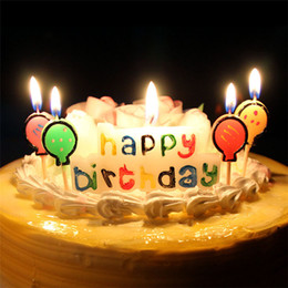 Multicolour Flame Happy Birthday Candle Home Decoration Colorful Color Paraffin Wax Art Candles For Party