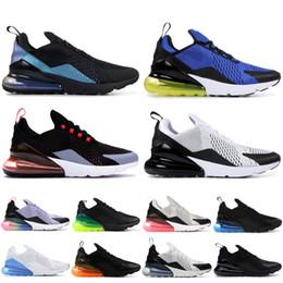 low priced 28a42 ab8a9 Nike Air Max 270 2019 Warriors Zapatillas de running para hombre Triple  Negro Blanco Medianoche azul marino Zapatillas Gold de mujer Zapatillas de  diseñador ...