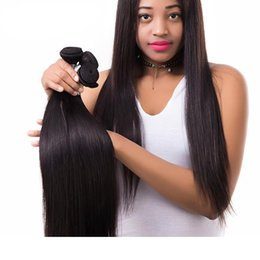 best tangle free human hair 2020 - Grade 10A--100% Human Virgin Hair Silk straight Hair Bundle with double weft, Best Quality No tangle & no shedding, Free