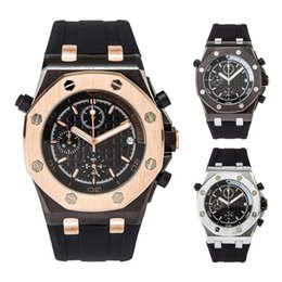 Korean Small Watch Australia - 2019 Luxury HUB Mens Watches Casual Sports Wristwatch Full Function all the small pointers work With Gift Box
