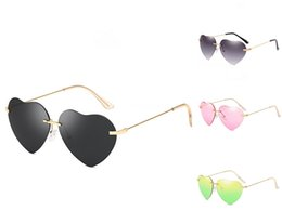 round shape sun glasses Australia - 2020 New Metal Men Heart-Shaped Sunglasee Round Sunglass Steampunk Coating Glasses Vintage Retro Lentes Of Male Sun #96204