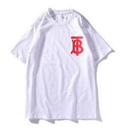 $enCountryForm.capitalKeyWord Australia - 19SS Designer t shirt men brand mansTShirt Fashion B letter tees Short Sleeve Luxury High Quality Womens tee Letter Print Mans Shirt Top tee