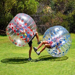 $enCountryForm.capitalKeyWord Australia - Free Shipping 1.0mm PVC Material 1.2m Inflatable Bubble Soccer Zorb Ball Air Body Zorb Ball Bubble Football Human Hamster Ball