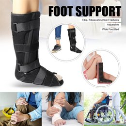Support Boots NZ - Ankle Support Brace Adjustable Walking Foot Boot Sprain Support Walker Braces Supports Treatment Ankle Fractures Rehabilitation #119187