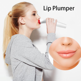 lip plump tools 2019 - Electric Silica Gel Lip Plumper Fuller Bigger Thicker Lips Beauty Women Sexy Lips Makeup Tool USB Rechargeable discount